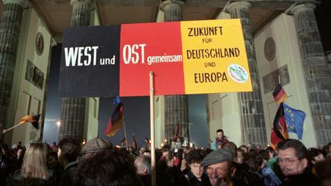 Ost West Wiedervereinigung