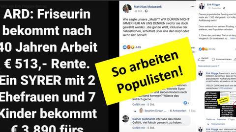 Facebook-Post von Erik Flügge