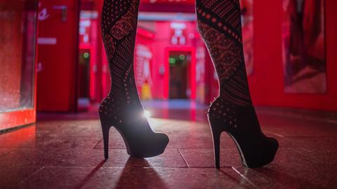 Prostitution im Bahnhofsviertel Frankfurt