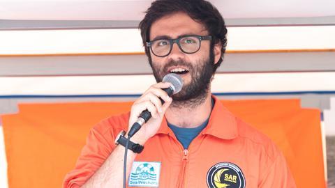 Manos Radisoglou, ehrenamtlicher Pilot bei der Schweizer Hilfsorganisation 'Humanitäre Piloten'