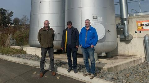 Nahwärme-Kraftwerk in Rauschenberg