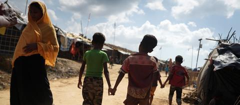 Rohingya-Camp in Bangladesch