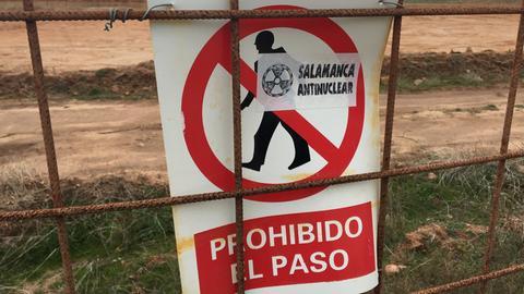 "Proteste gegen das ""Salamanca-Projekt"""