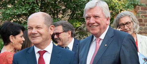 Olaf Scholz und Volker Bouffier