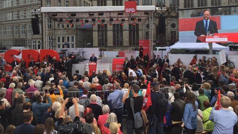 Martin Schulz im Wahlkampf