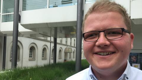 Sebastian Sommer, 23, (Junge Union)
