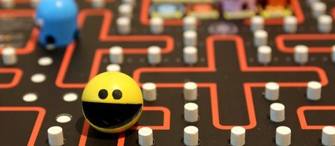 Spielbrett Pac Man