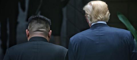Donald Trump und Kim Jong-un