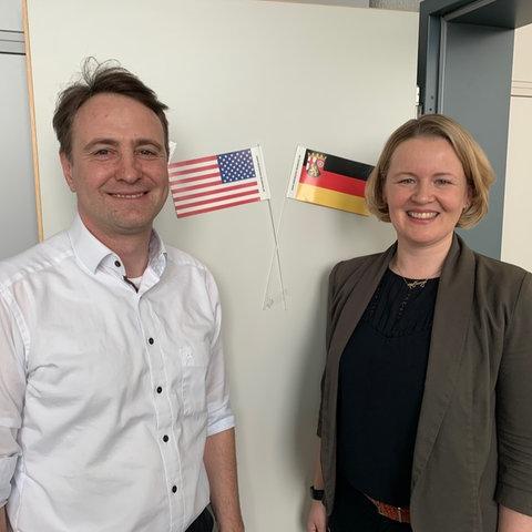 David Sirakov und Sarah Wagner, Atlantische Akademie Rheinland-Pfalz