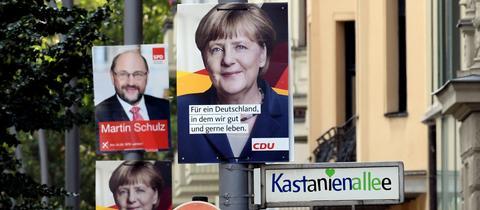 Wahlplakate 2017