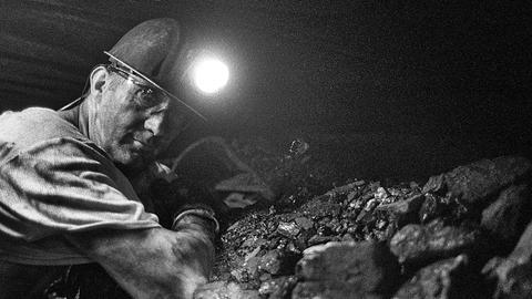 Bottrop: Ein Bergmann arbeiten auf der Zeche Prosper Haniel