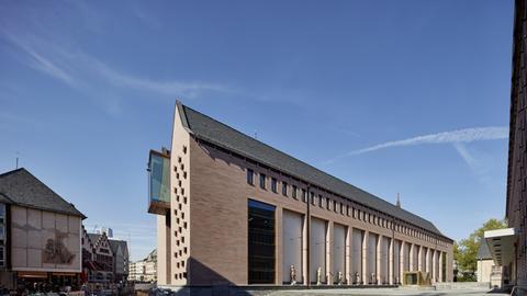 Neubau Historisches Museum Frankfurt