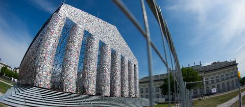 """""""The Parthenon of Books"""" in Kassel"""