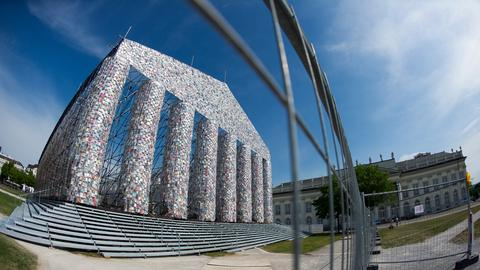 """The Parthenon of Books"" in Kassel"