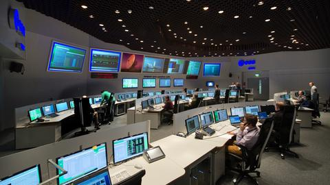 ESOC Kontrollraum